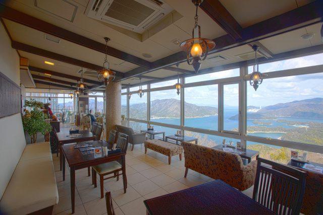 五老ヶ岳公園 GORO SKY CAFE nanako(店内画像)